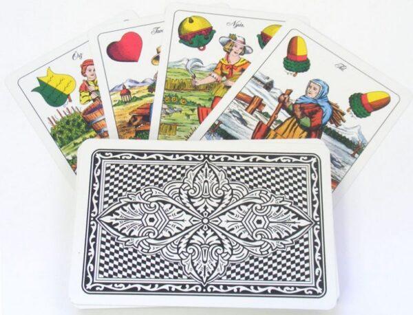 100% plasztik magyar kártya