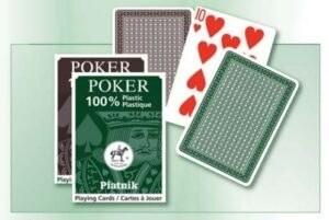100% plasztik póker 1x55 lap