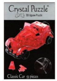 3D Kristály kirakó-Piros autó