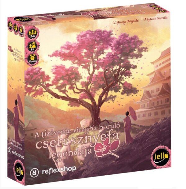 A tizevente viragba borulo cseresznyefa legendaja