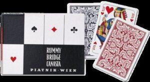 Bécsi standard francia kártya