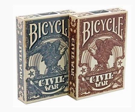 Bicycle - Civil War póker kártya
