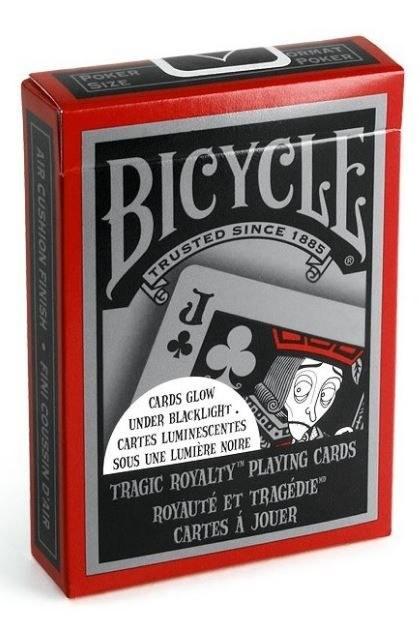 Bicycle Tragic Royalty poker kartya