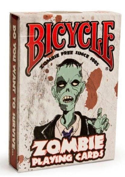 Bicycle Zombie pokerkartya