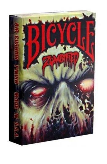 Bicycle Zombified poker kartya