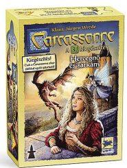 Carcassonne A hercegnő és a sárkány 3. kieg.