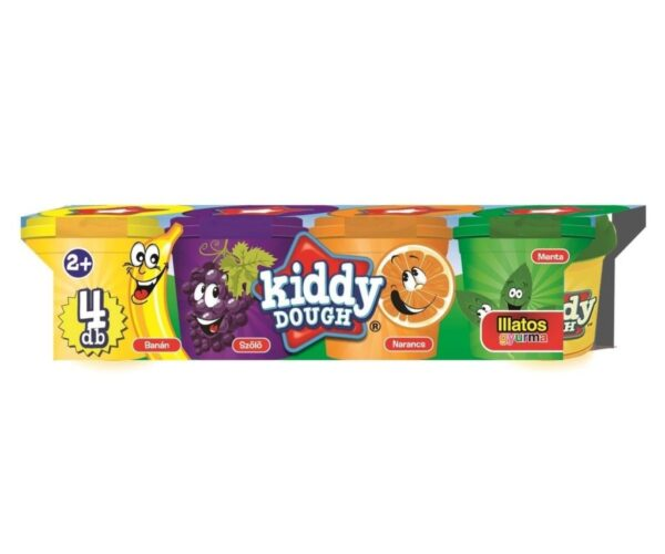 Creative Kids Kiddy Dough illatos gyurma, 4 db