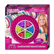 Creative Kids Moon Loom gumikarkötő készlet, nagy