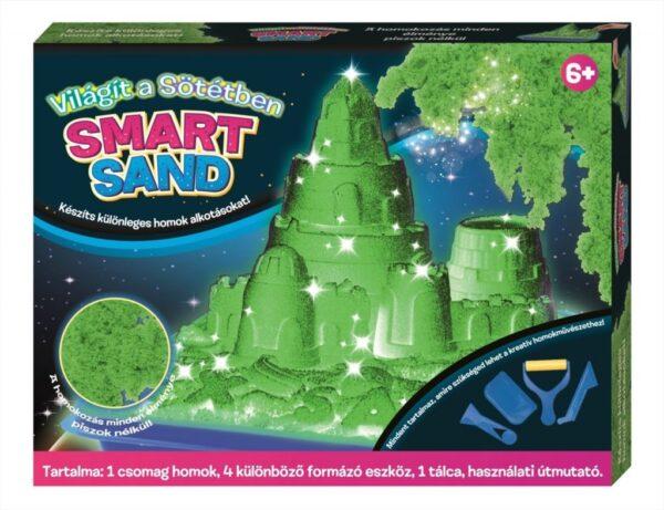 Creative Kids Smart Sand vilagit a sotetben