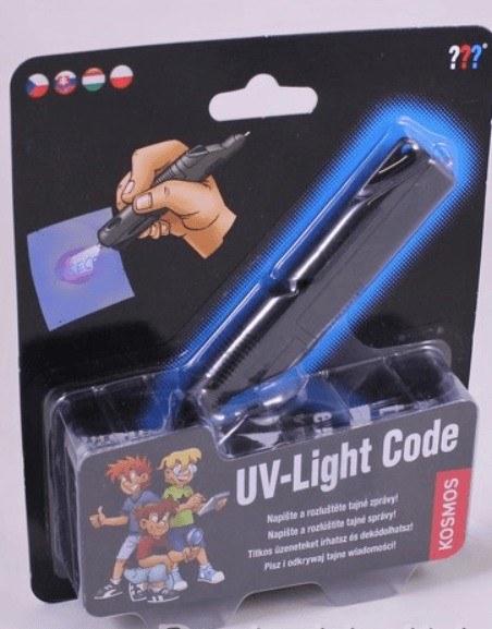 Detective kit - UV fénykód