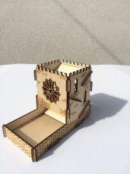 Dobó torony akasztós - Vár rózsaablakos