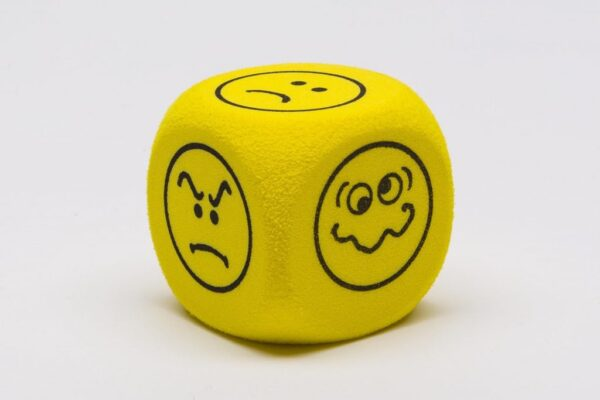 Dobókocka-Hab kocka - Érzelmek