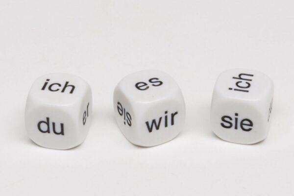 Dobókocka Személyes névmások (Német)