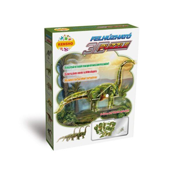 Felhúzható 3D puzzle - Didlodocus