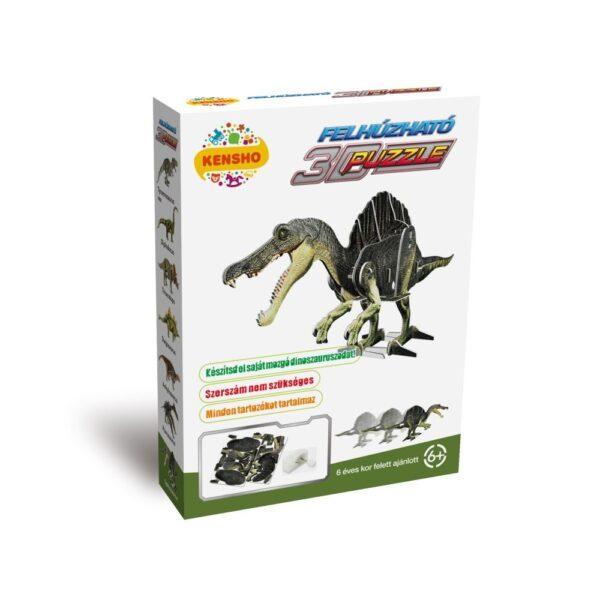 Felhúzható 3D puzzle - Spinosaurus