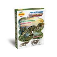 Felhúzható 3D puzzle - Tyrannosaurus Rex