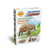 Felhúzható 3D puzzle - elefánt