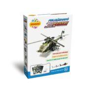 Felhúzható 3D puzzle - helikopter