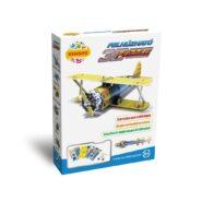 Felhúzható 3D puzzle - kétfedelű vadászgép