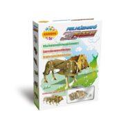 Felhúzható 3D puzzle - oroszlán