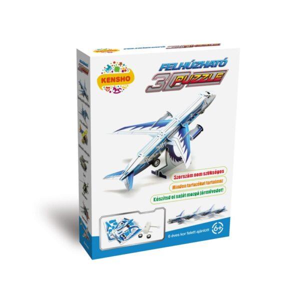 Felhúzható 3D puzzle - személyszállító repülőgép