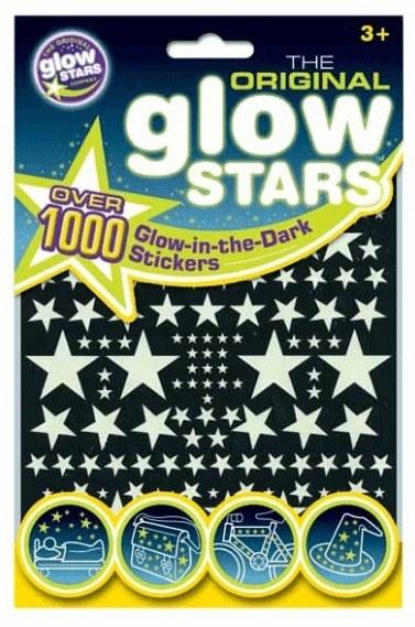 Glowstars 1000 db os foszforeszkalo csillagszett