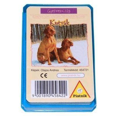 Gyermekvilág - Kutyák kártya