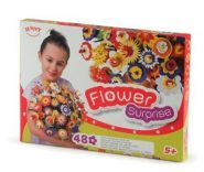 Happy Flower Suprise Virágcsokor Habszivacs kirakó