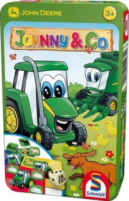 John Deere Johnny és Barátai Fémdobozos társasjáték