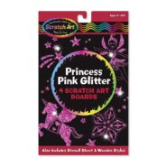 Képkarc glitter, hercegnő