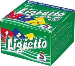 Ligretto Zöld társasjáték