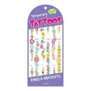 Matrica tetoválás - karkötők