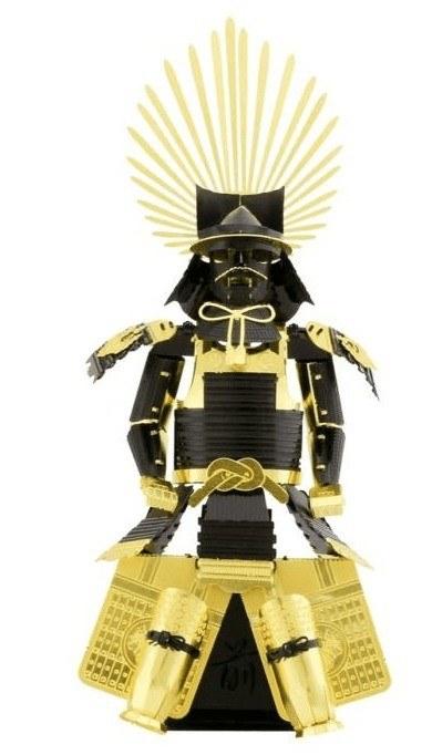 Metal Earth Japán (Toyotomi) páncél