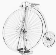 Metal Earth Penny Farthing bicikli