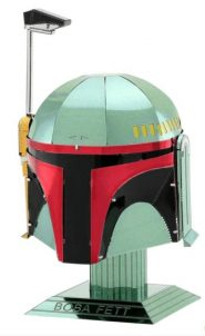 Metal Earth Star Wars Boba Fett sisakja
