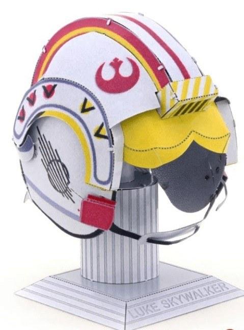 Metal Earth Star Wars Luke Skywalker sisakja
