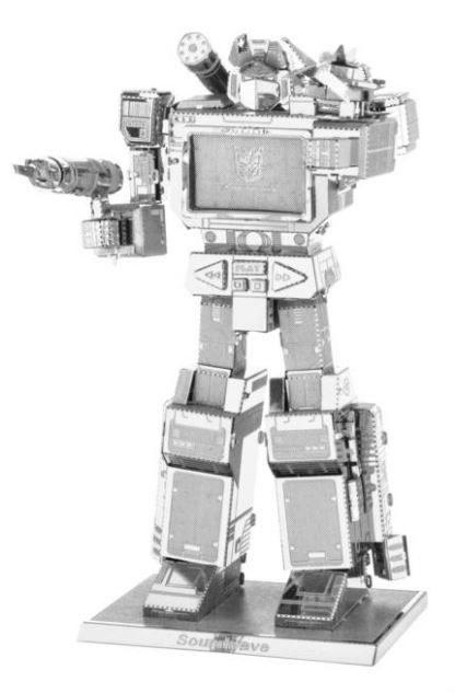 Metal Earth Transformers Soundwave