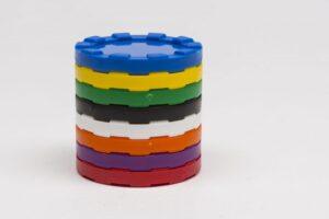 Műanyag Póker zseton 40x5mm