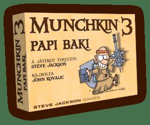 Munchkin - Papi baki (színes)
