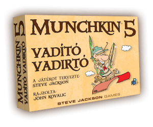 Munchkin - Vadító vadirtó (színes)