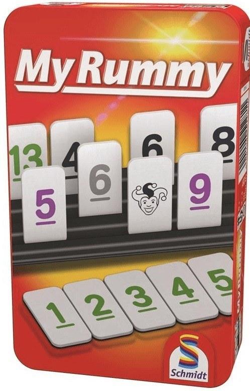 MyRummy Fémdobozos társasjáték