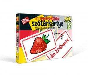 Nyelvoktató szótár kártya Német társasjáték