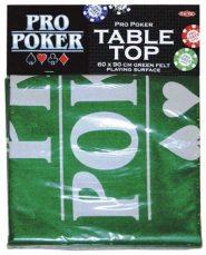 Póker játékfelület filc (60x90 cm)