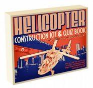 Professor Puzzle - 3D fa építő szett - Helikopter