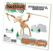 Professor Puzzle - 3D fa építő szett - Pterodactyl