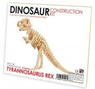 Professor Puzzle - 3D fa építő szett - T-Rex
