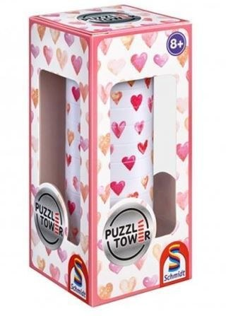 Puzzle Tower / Kirakó torony - Hearts