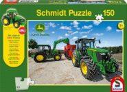 Schmidt Puzzle - 5M típusú tractorok, 150 db + SIKU Traktor model