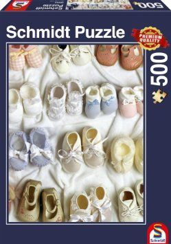 Schmidt Puzzle Baby shoe 500 db