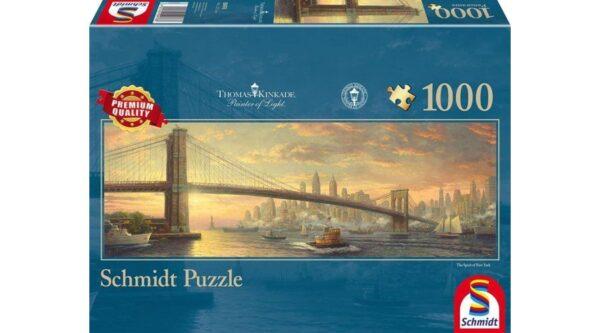 Schmidt Puzzle Brooklyn Bridge New York 1000 db